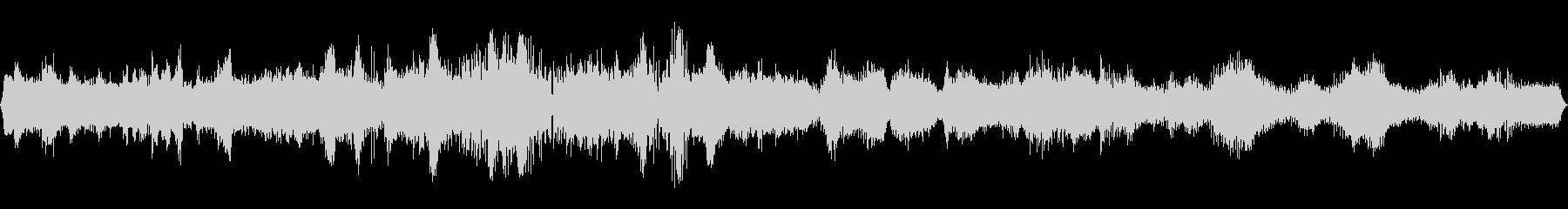 マインドスケープの未再生の波形