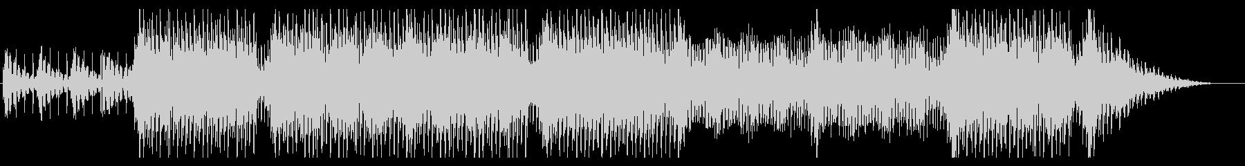 ムーディーなクワイア・ボーカル曲の未再生の波形