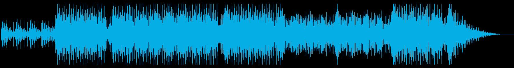 ムーディーなクワイア・ボーカル曲の再生済みの波形