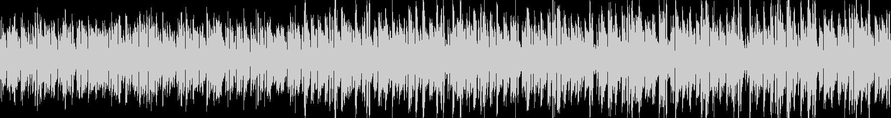 アルペジオ無機質エレクトロニカの未再生の波形