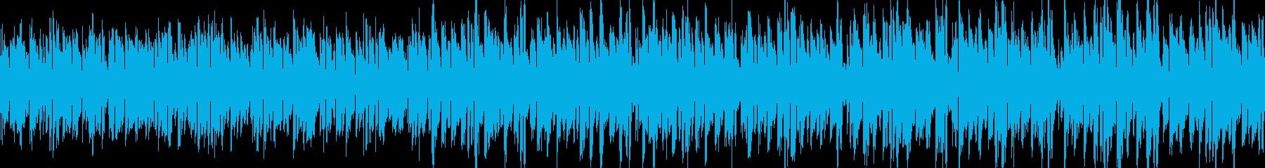 アルペジオ無機質エレクトロニカの再生済みの波形