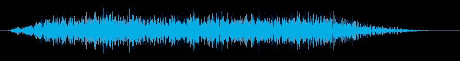 おおー(複数人)の再生済みの波形