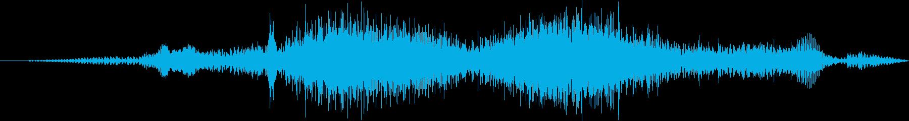 VwゴルフGtターボディーゼル:内...の再生済みの波形