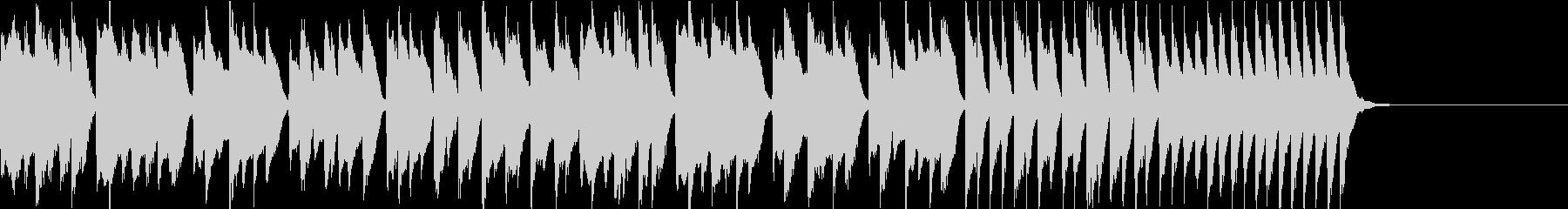 子供 ペット わんぱくカワイイ ピアノ曲の未再生の波形