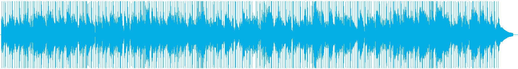 トランペット、スムースジャズバラードの再生済みの波形