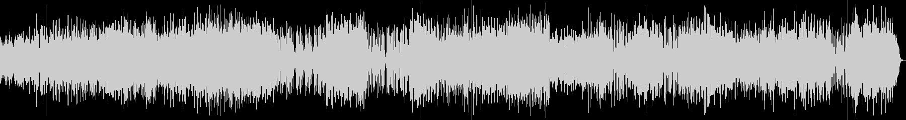 チェンバロの豪華な曲・2楽章(バッハ)の未再生の波形