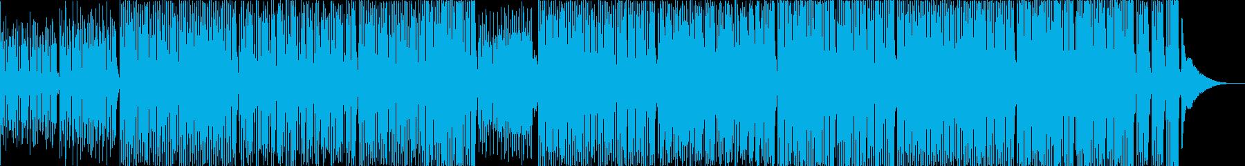 TikTokに元気で可愛い口笛トイピアノの再生済みの波形