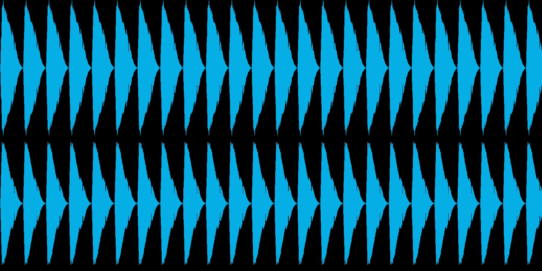 【アラーム】電子音 - ピピピピピピピピの再生済みの波形