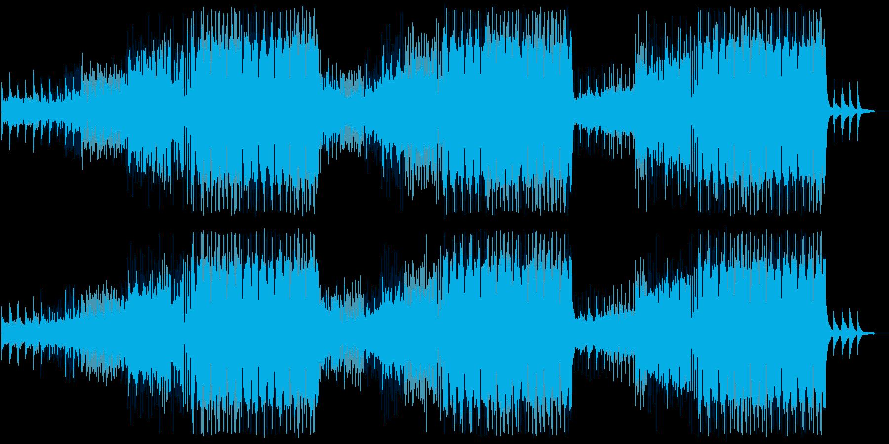 Kawaii Future Pop 洋楽の再生済みの波形