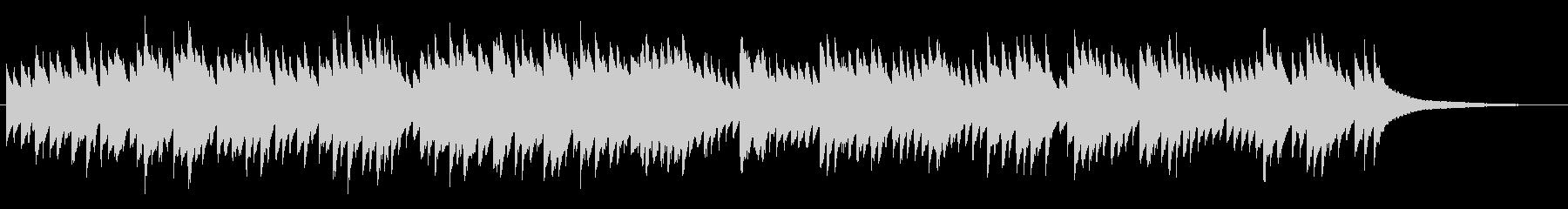 バッハ フランス組曲 第3番 オルゴールの未再生の波形