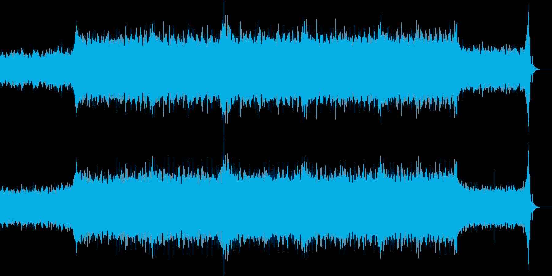 緊迫・恐怖・奇怪なシーンに最適なEDMの再生済みの波形