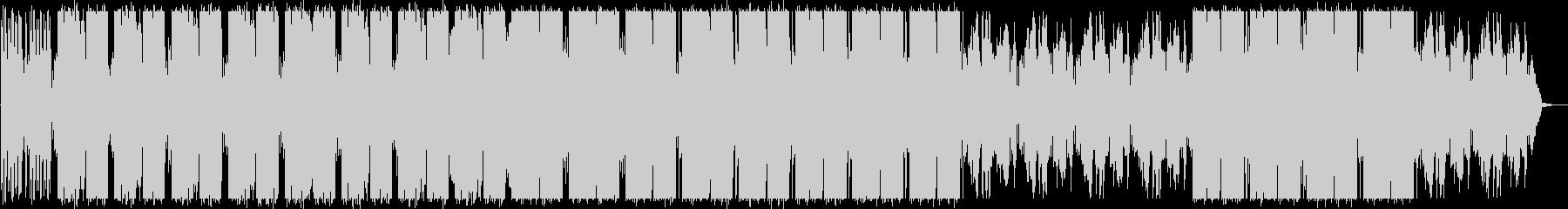 エレクトロニカ/不思議/綺麗/グリッチの未再生の波形