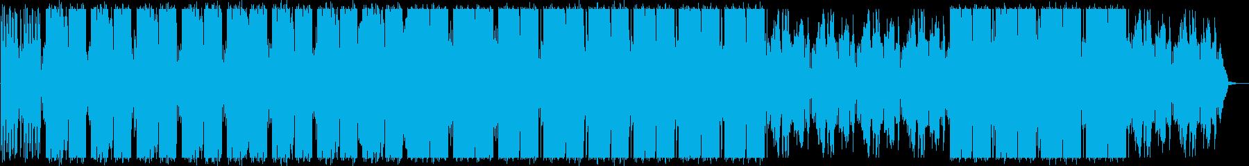 エレクトロニカ/不思議/綺麗/グリッチの再生済みの波形