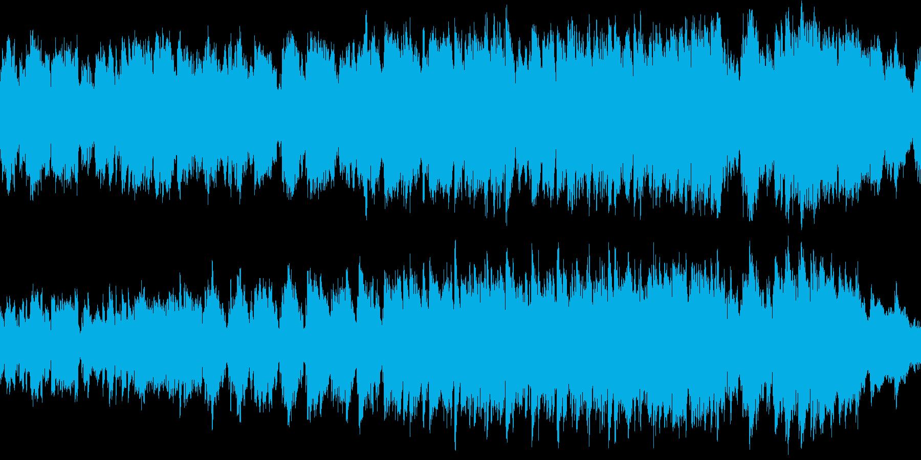 ファンタジー&メルヘンな民族調・ループ版の再生済みの波形