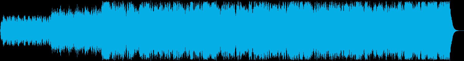 パイプオルガン前奏曲オリジナルです。の再生済みの波形