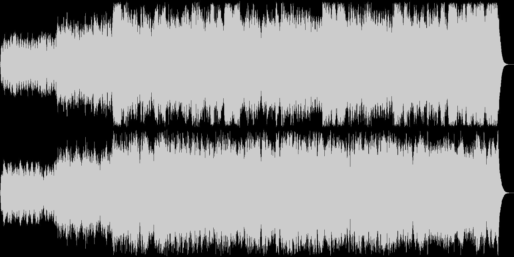 パイプオルガン前奏曲オリジナルです。の未再生の波形