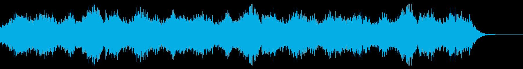 ダーク、怪しい、ホラー、シンセ、環境音楽の再生済みの波形