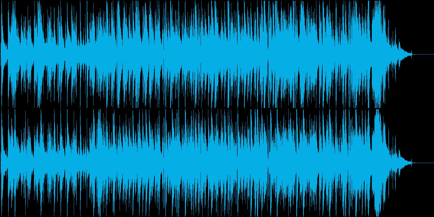 きよしこの夜、おしゃれジャズピアノトリオの再生済みの波形