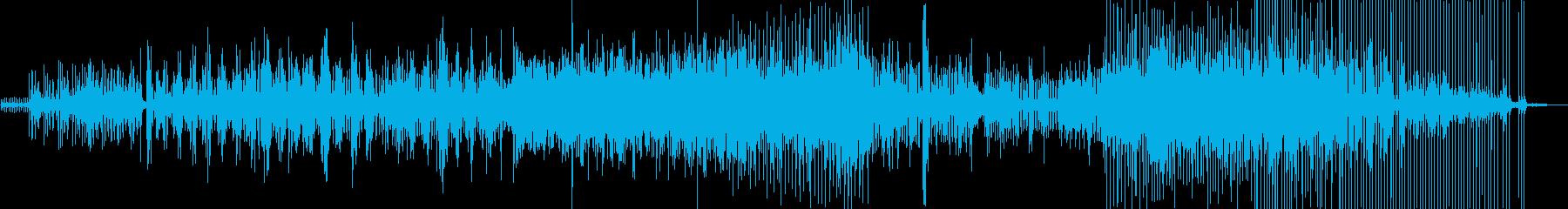 警察の音とリズム、期待、サスペンス...の再生済みの波形