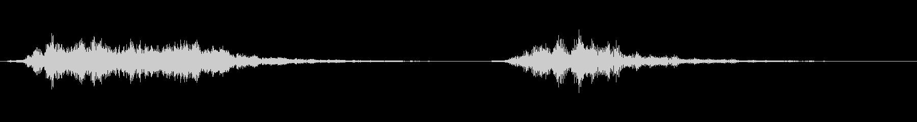 【SE 効果音】不気味な音13の未再生の波形