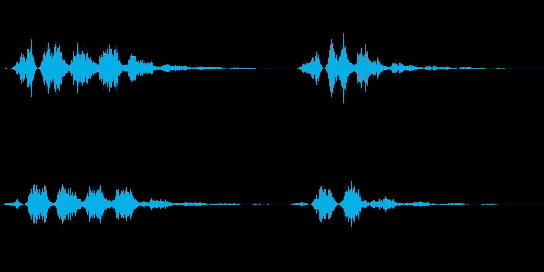 【SE 効果音】不気味な音13の再生済みの波形