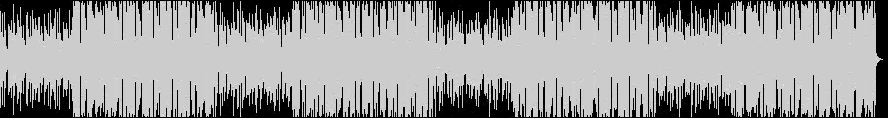 都会的なBGMの未再生の波形