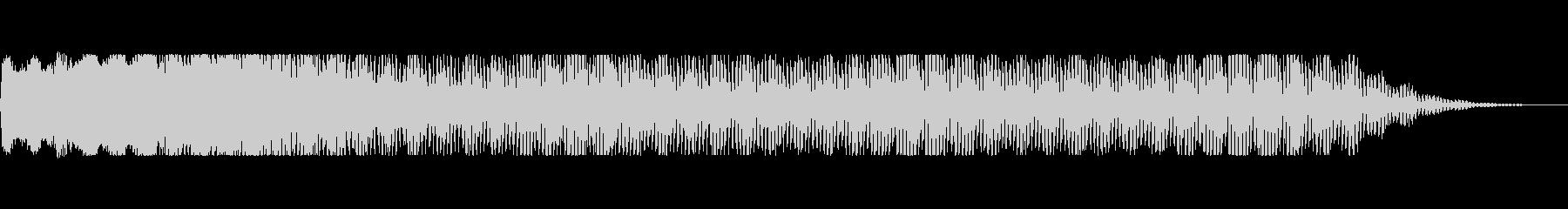 バズドローン2の未再生の波形
