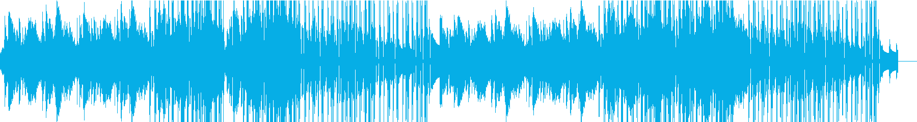 重厚なピアノが特徴のバラードの再生済みの波形