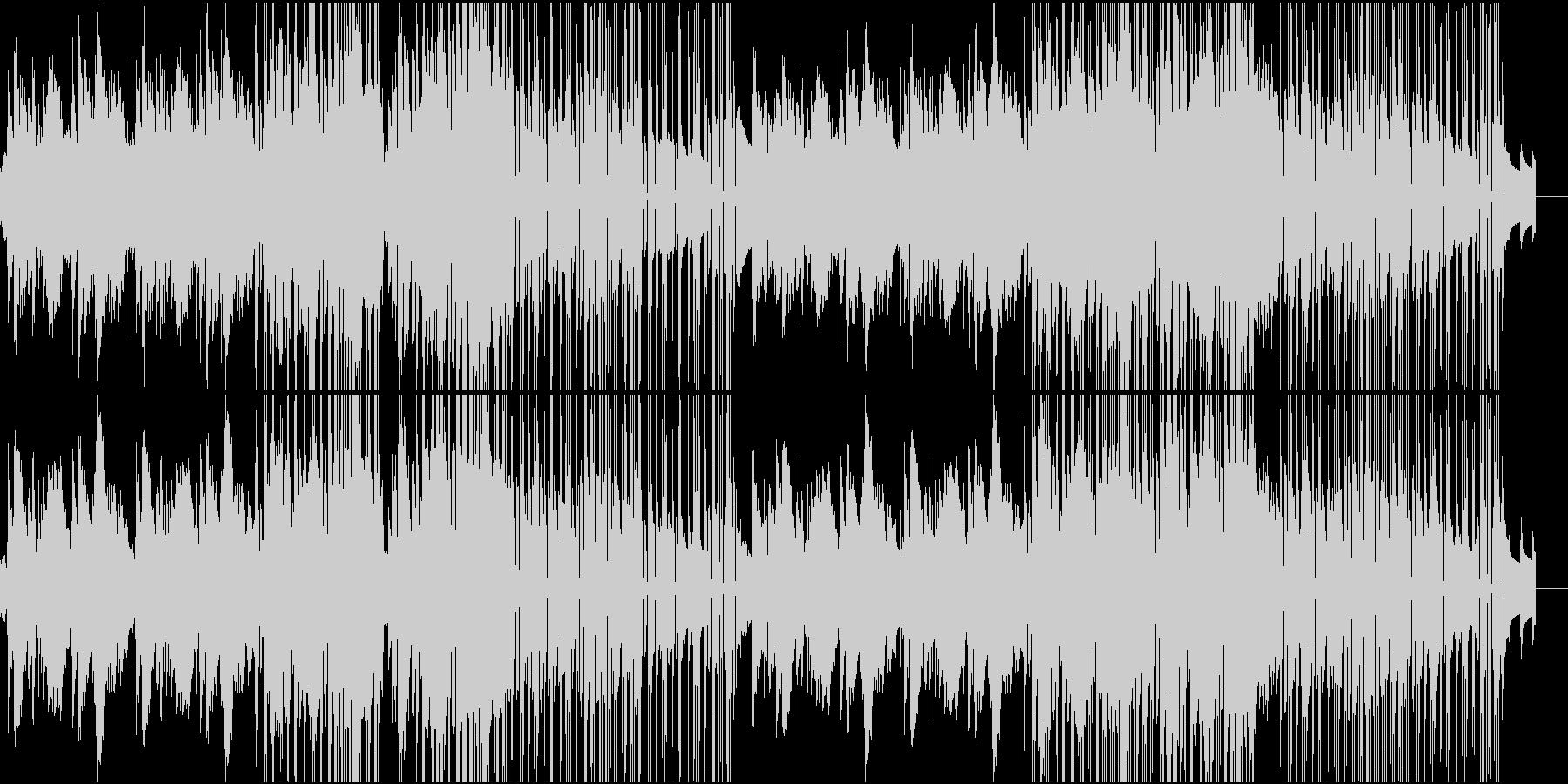 重厚なピアノが特徴のバラードの未再生の波形