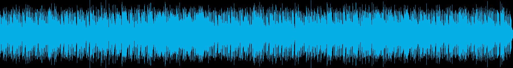 ほのぼのしたリコーダーとピアノのBGMの再生済みの波形