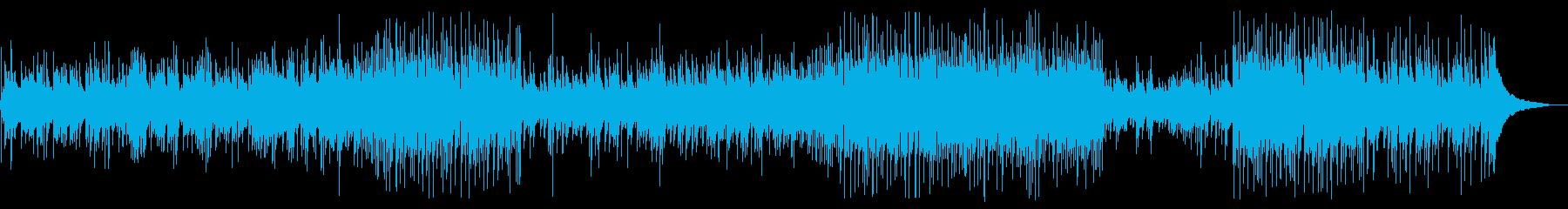 生演奏!アコギデュオによる爽やかポップスの再生済みの波形