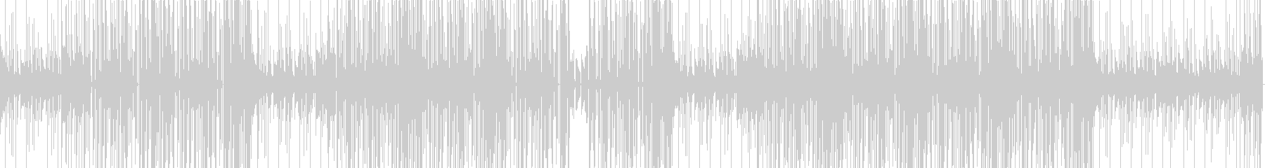 ソウルフルなトラップビートの未再生の波形