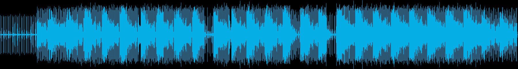 エレクトロハウス。雰囲気。ミステリ...の再生済みの波形