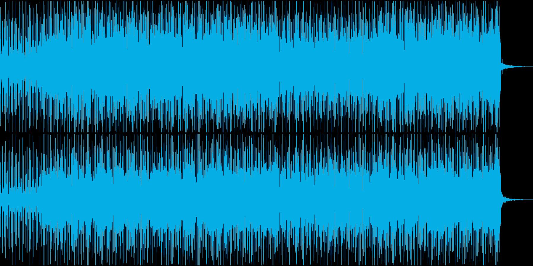 ウクレレ・鉄琴・夏・前向き・ポップロックの再生済みの波形