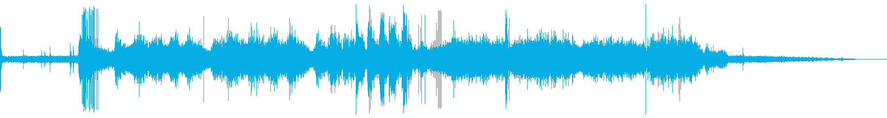 カッター、モダン、ランニング、ワー...の再生済みの波形