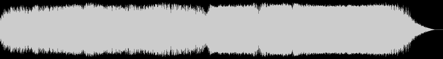 レトロ、ノスタルジックな空間表現用の音楽の未再生の波形