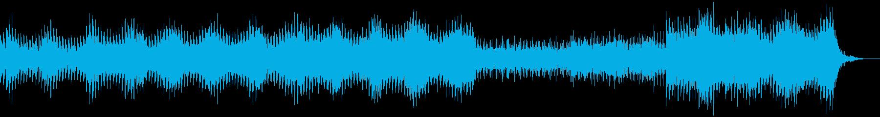 ちょっと哀愁のあるテクノの再生済みの波形