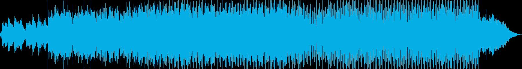 アクティブで前向きな雰囲気のエレクトロの再生済みの波形