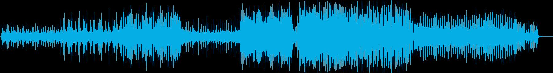 だんだんテンションがあがるクールなEDMの再生済みの波形