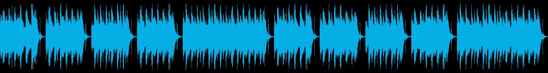 コミカルでクラシックなスイング曲の再生済みの波形