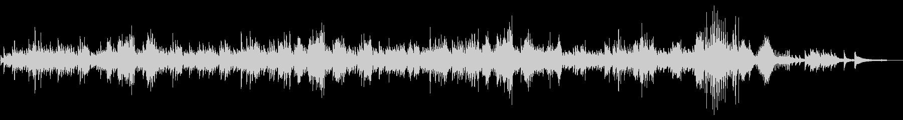 ショパン、ノクターン第2番の未再生の波形