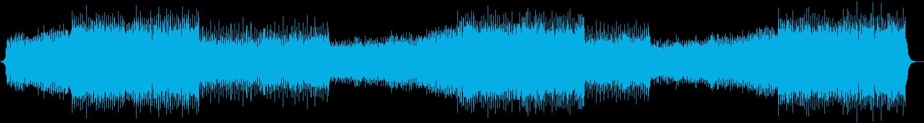 明るい・楽しい・カントリー・EDMの再生済みの波形