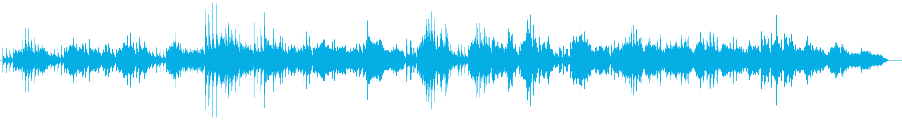 これは、オー・ダニー・ボーイの穏や...の再生済みの波形