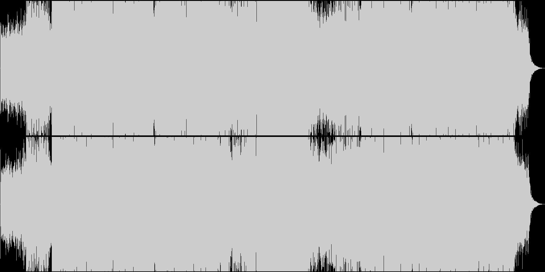 「ダッタン人の踊り」トランス系アレンジの未再生の波形