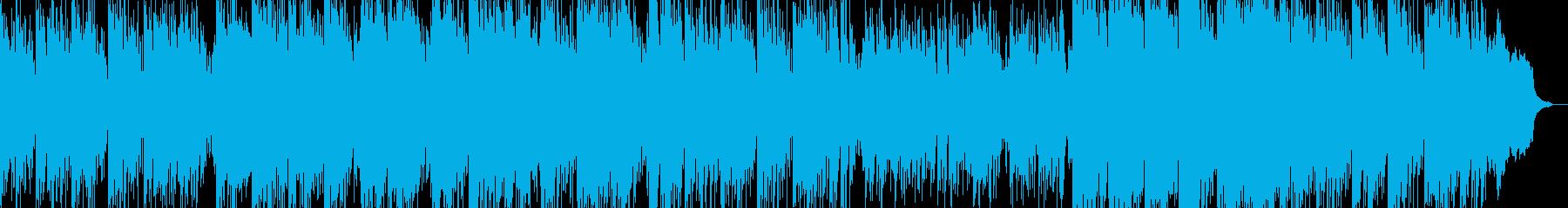 和の感じとアップデート曲の再生済みの波形