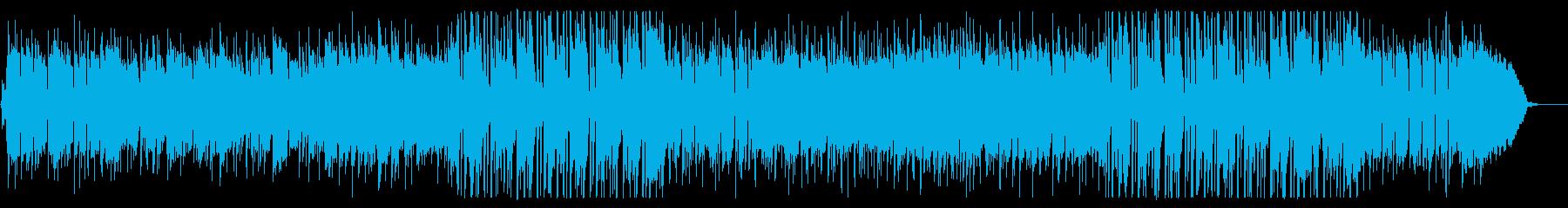 ハーモニカが奏でるフォーキーなポップスの再生済みの波形