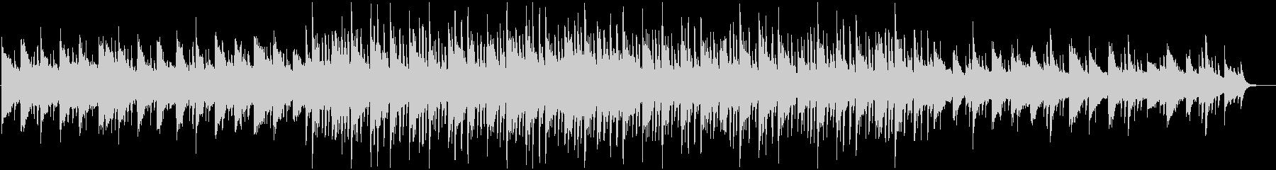 雄大で幻想的なピアノのBGMの未再生の波形