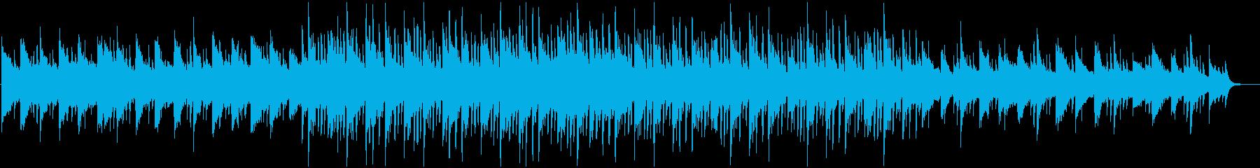 雄大で幻想的なピアノのBGMの再生済みの波形