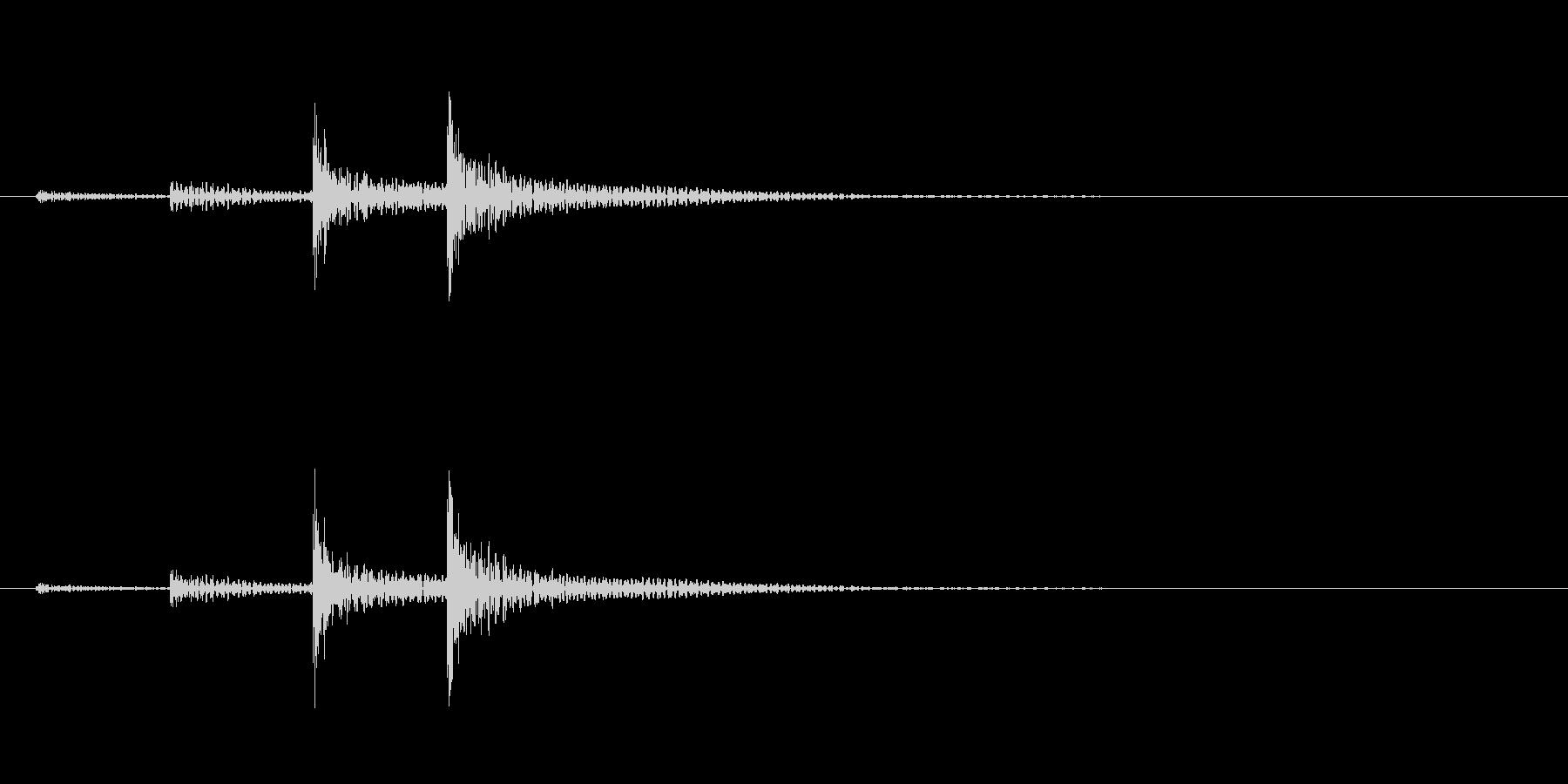 「ドン…」和太鼓の大太鼓フレーズ音+FXの未再生の波形