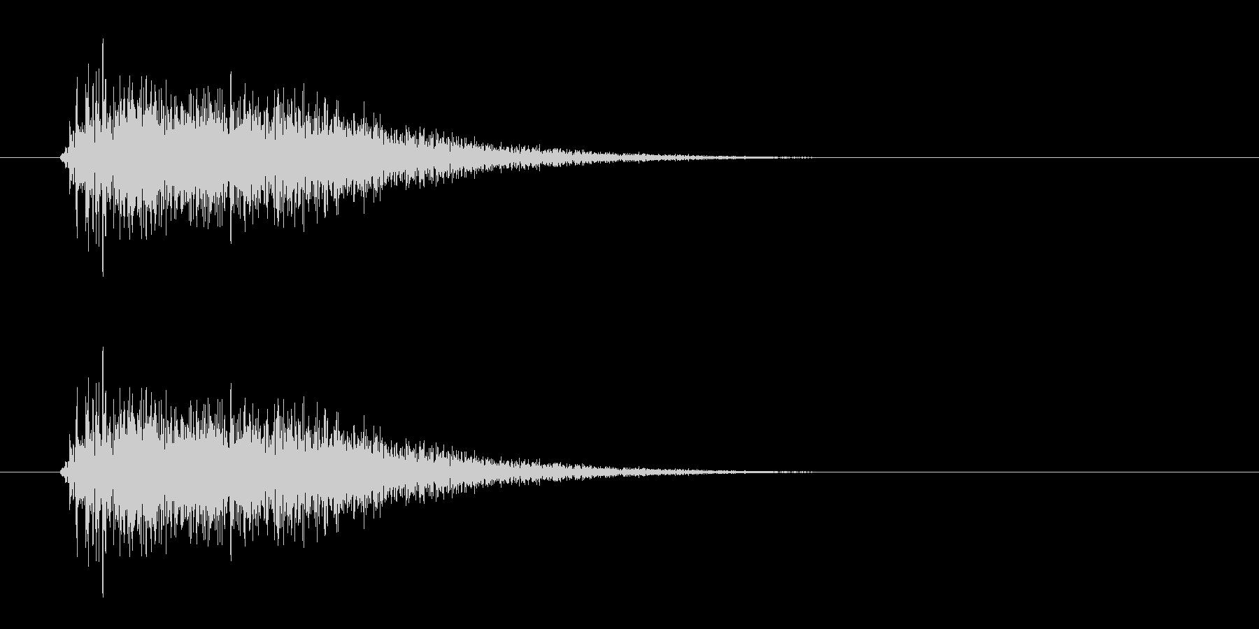レーザー音-11-3の未再生の波形